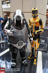 Volus and Salarian at C2E2 1 by RebelATS