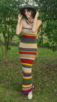 4th Doctor's Scarf Dress