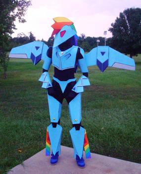 My Mecha Pony - Rainbow Dash
