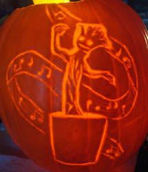 Dancing Groot Pumpkin by RebelATS