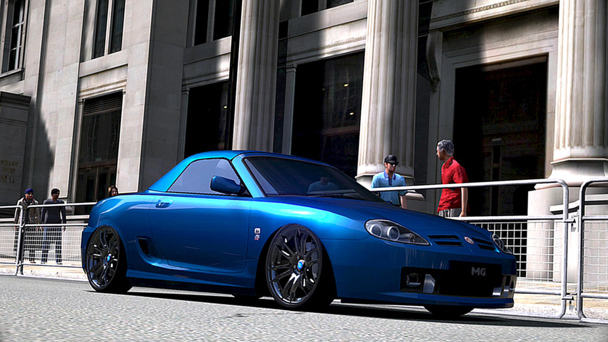 tuned 2003 mg tf160 in london gt6 by pikachuracer on. Black Bedroom Furniture Sets. Home Design Ideas