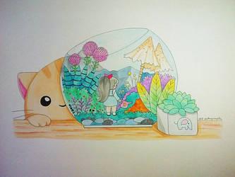 Little Terrarium by ErisConstance