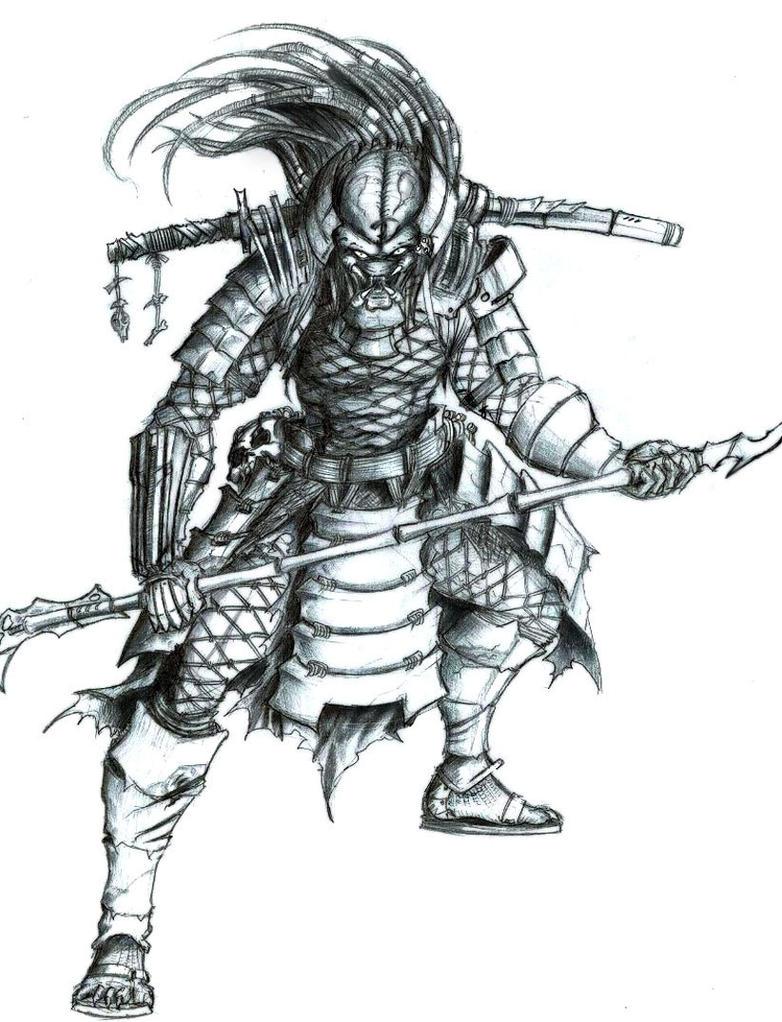 Japanese Samurai Tattoo Drawing