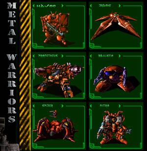 Metal Warriors lineup