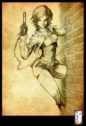 Bakunawa Character sketch by Tatong