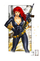 Black Widow by Juliusdean