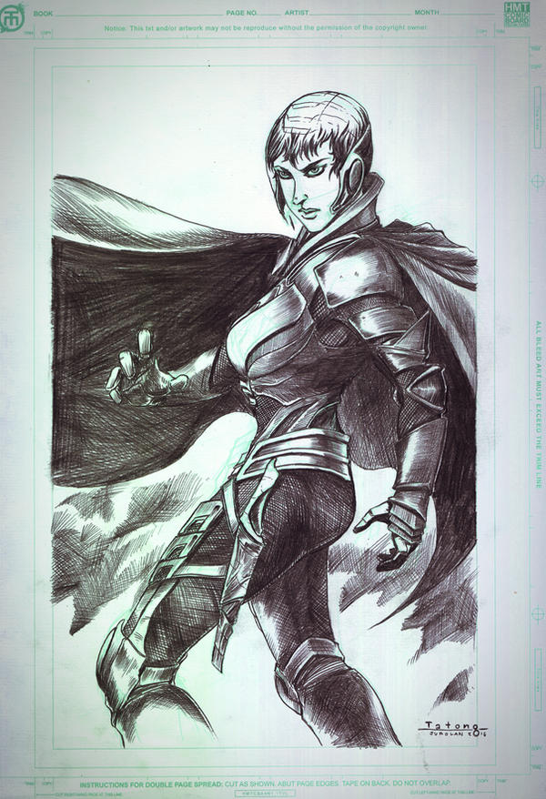 Faora Ul of Krypton by Tatong