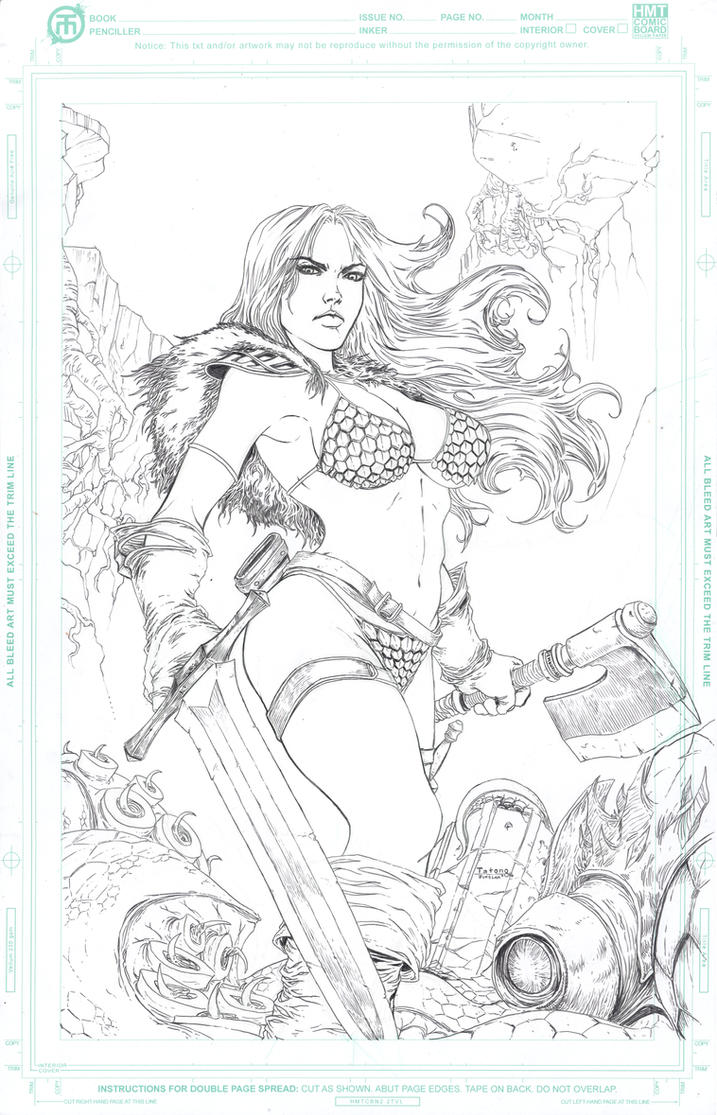 Red Sonja by Tatong