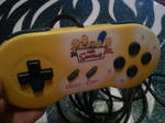 custom painted Simpson's super Nintendo controller