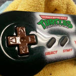 custom painted TMNT super Nintendo controller