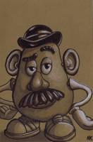 Warm Up Sketch: Mr. PotatoHead by N8KELLY