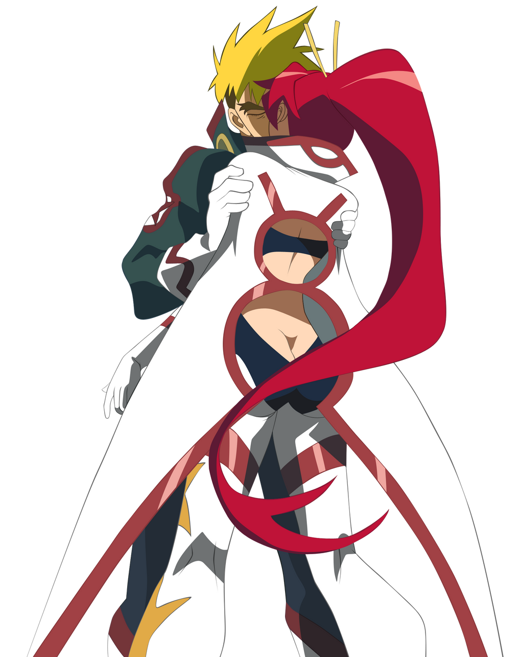 Yoko X Kittan Vector by Infernova on DeviantArt
