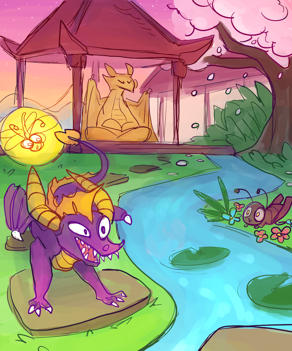 boss buzz spyro year of the dragon by fantasydragons on deviantart