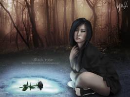 Black Rose by jorgeremmy