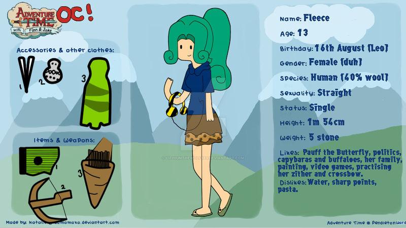 Adventure Time OC - Fleece