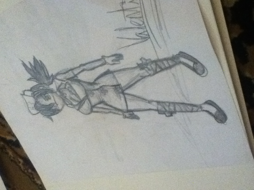 Valentine sketch by HDMaShii