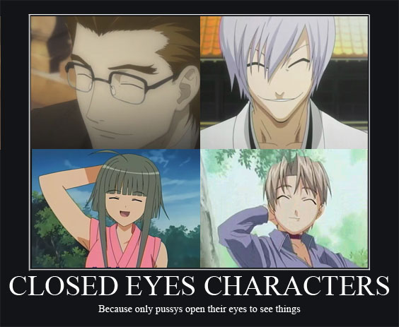Anime Characters One Eye : Anime motivational posters forums