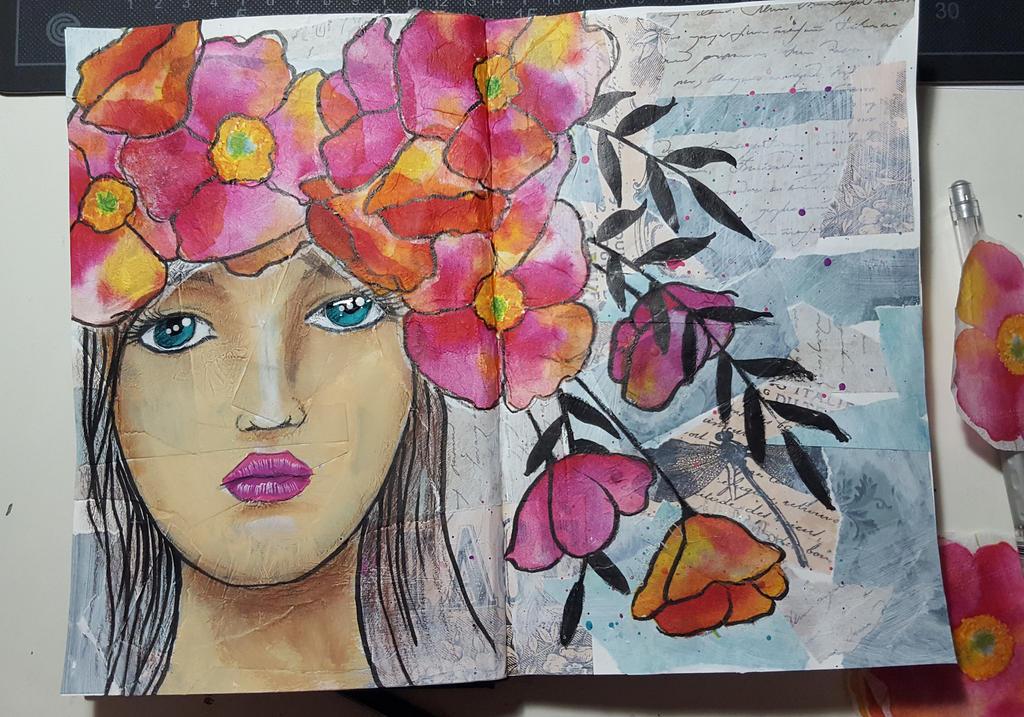 Poppies by SeelenspiegelsArt