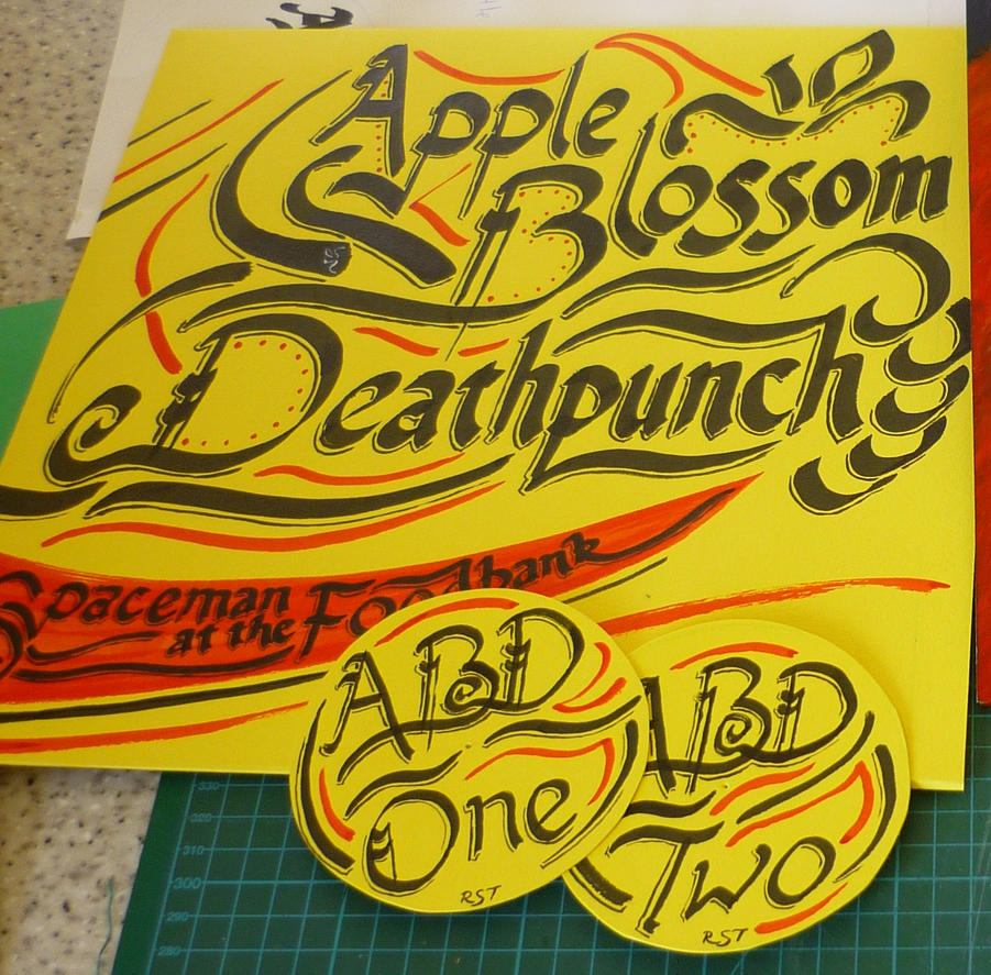 LP cover - Apple Blossom Deathpunch by shetlandwhat