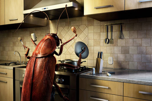 Mortain Raid - cockroach