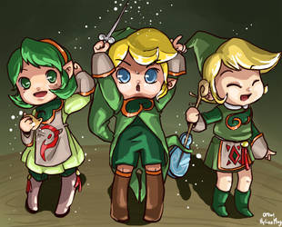 LoZ - Forest's Concert by hylianmage