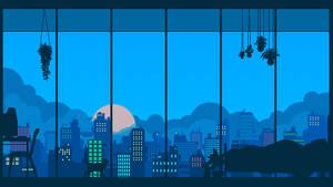 Pixel scenery practice- Bedroom View