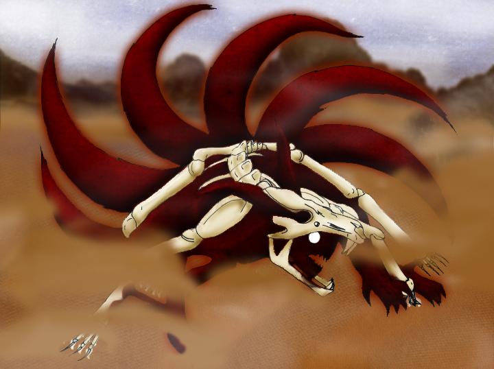 Naruto Kyuubi 6 Tails by MasterSesshoMaru on DeviantArt
