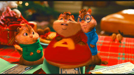 alvin chipmunk fat by darkone300