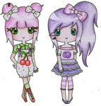 Cherry Vine and Plum Pip