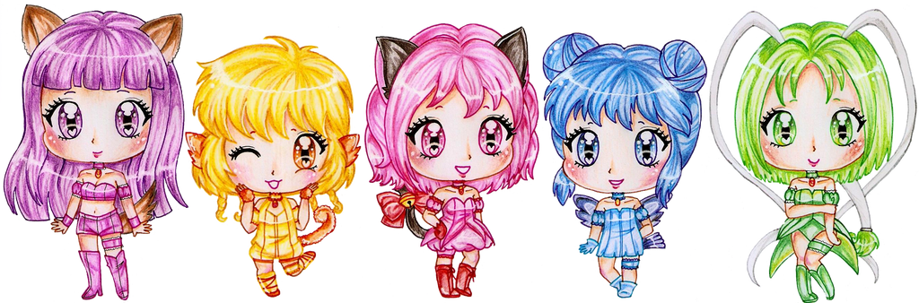 Tokyo Mew Mew by Bee-chii