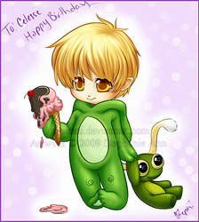 -Frog Birthday-