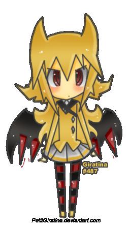 Giratina Gijinka by PetitGiratina