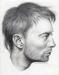 Thom York by sarahchalmers