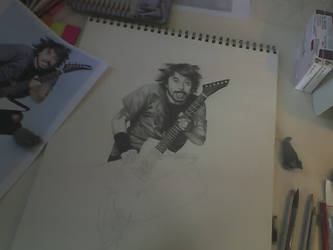 Dave Grohl WIP by sarahchalmers