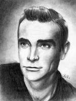 Sean Connery by sarahchalmers