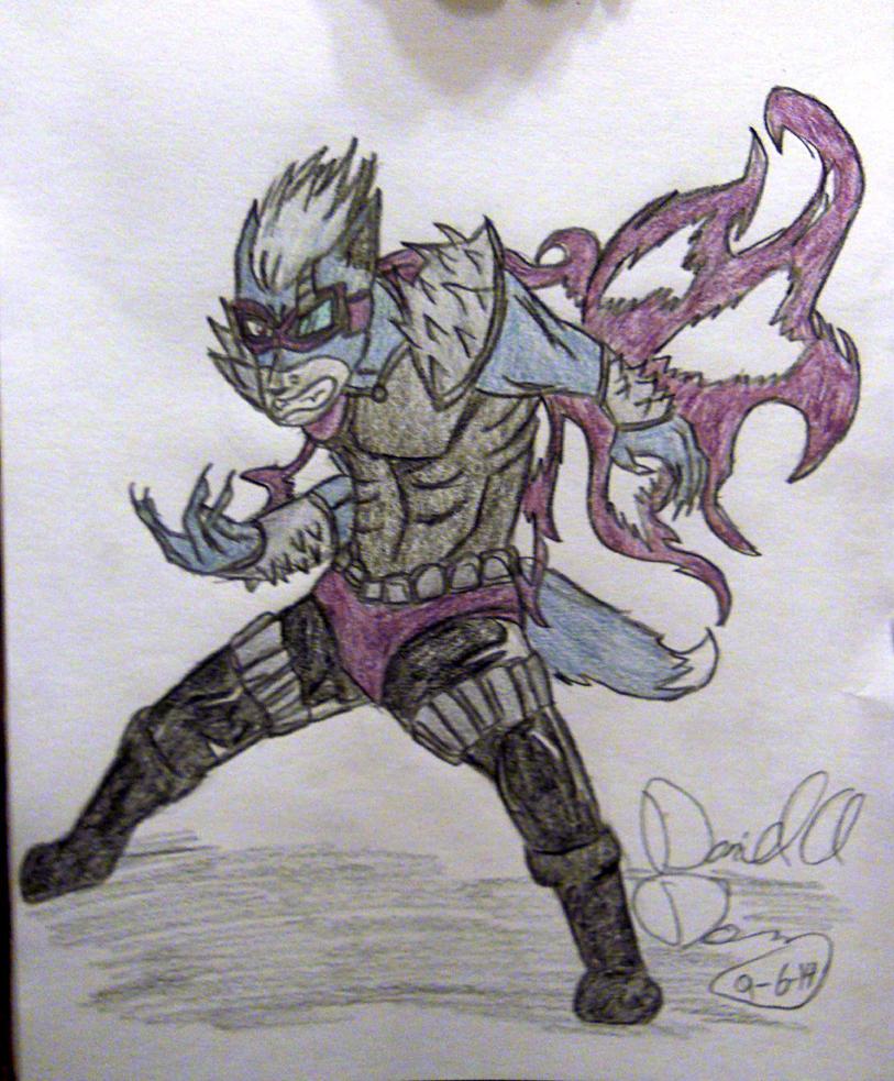 The Purple Wolf by bayonettafan001