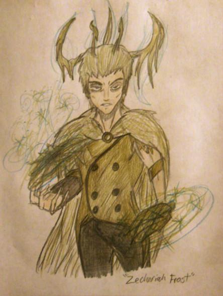 Zechariah Frost Redo by bayonettafan001