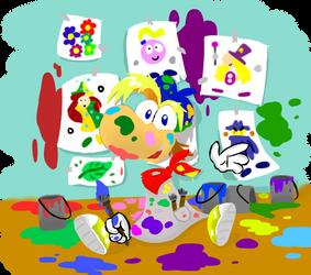Artist Rayman by Typhlosion34