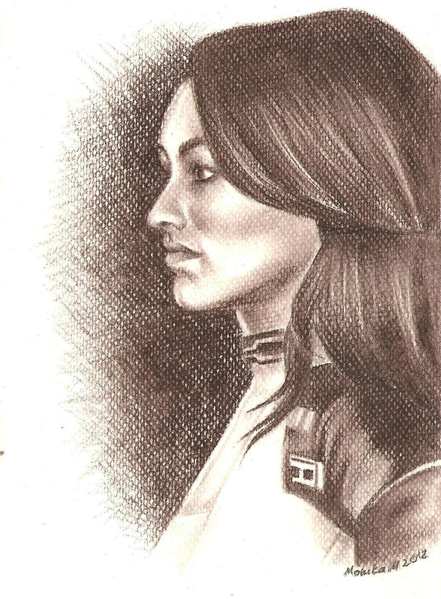 Mass Effect Profile Portrait Series: Miranda by moneeka