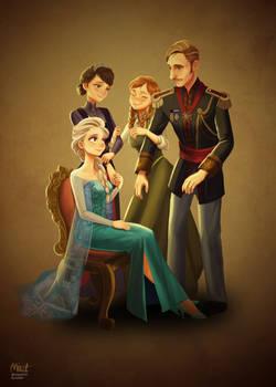 Frozen Royal Family
