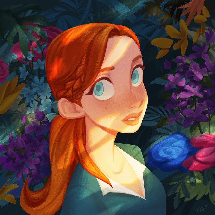 Garden by miacat7