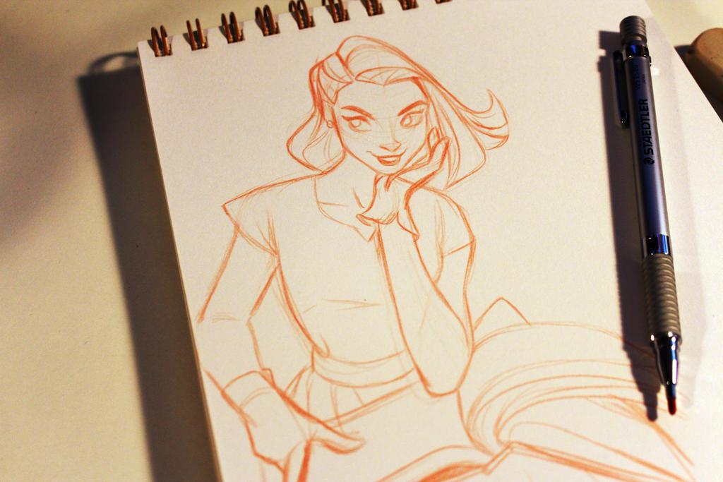 Daily Sketch by miacat7