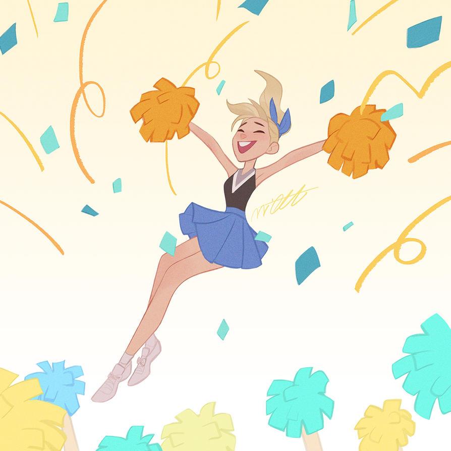 Cheerleader by miacat7