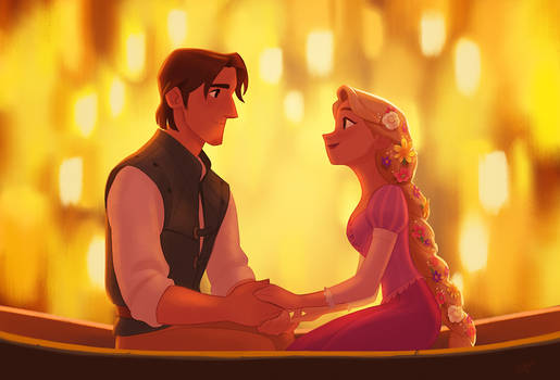 Tangled fan-art