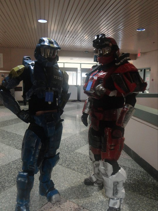 Halo cosplay by phoenix-101