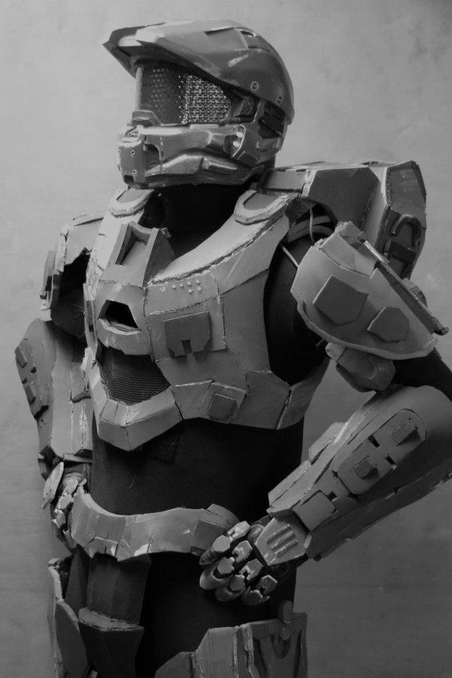 My new master chief suit by phoenix-101