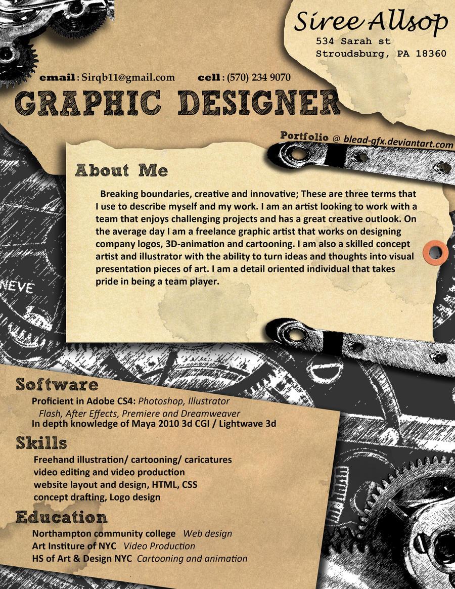 resume by blead