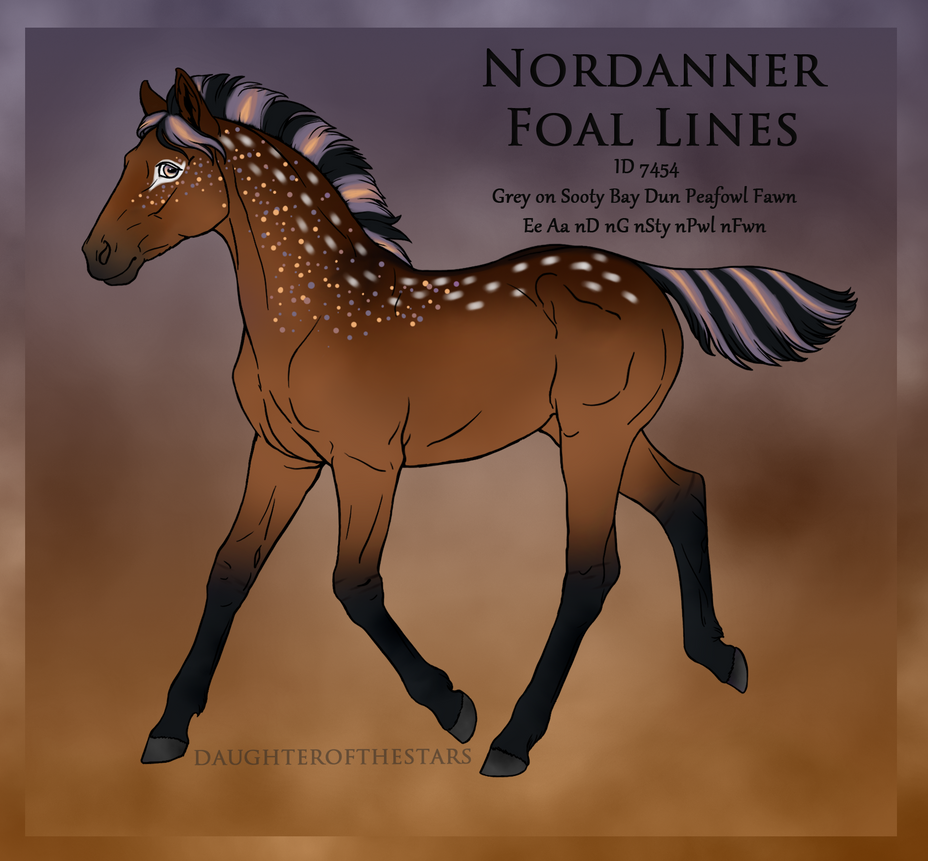 7454 Foal Design by Cloudrunner64 ...