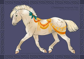 A41 Nordanner Group Horse Import by Cloudrunner64