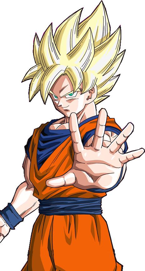 Goku SSJ Full Power by Bardock10 on DeviantArt